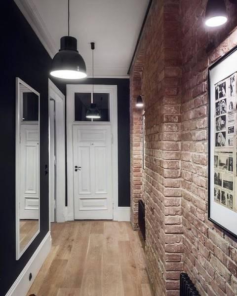 Дизайн узкой прихожей— правильно обустраиваем пространство на45 фото
