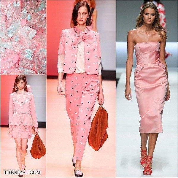 Коралловый цвет в одежде: как носить и с какими цветами сочетается