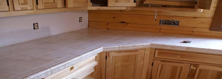 Столешница из керамогранита для кухни своими руками