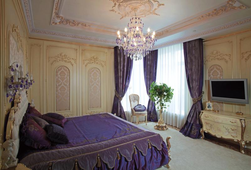 Стиль барокко в интерьере квартиры, гостиной и спальни   современные идеи дизайна