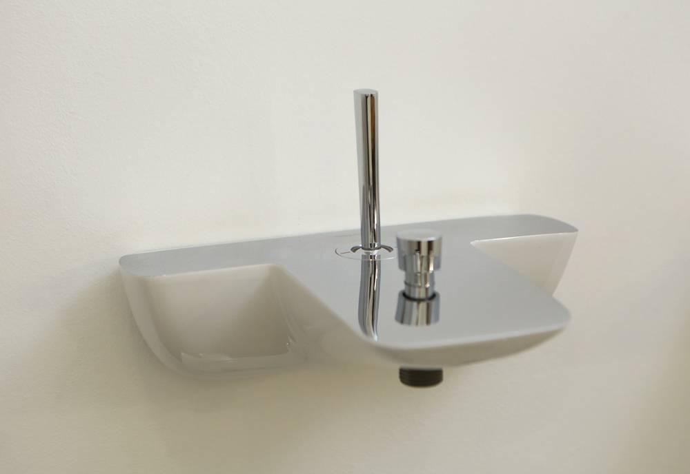 Смеситель для ванной hansgrohe: выбираем модели с длинным изливом, с креплением на борт и термостатом, комплект 3 в 1 и напольный