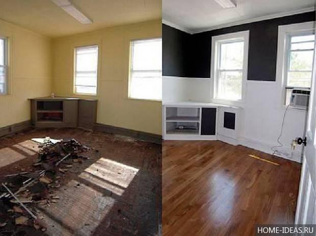Ремонт квартиры своими руками: с чего начинать и основные этапы реализации проектов (100 фото)