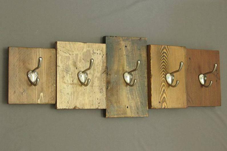 Ключница своими руками настенная - из дерева и картона