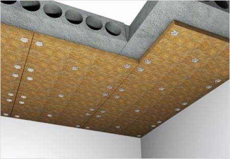 3 способа крепления пенопласта к стенам и потолку