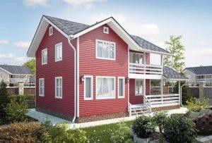 9 вариантов внешней отделки каркасного дома