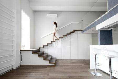 Лестница в частном доме на второй этаж   +120 лучших фото !!!
