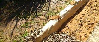 Подсыпка под ленточный фундамент: выполнение работ