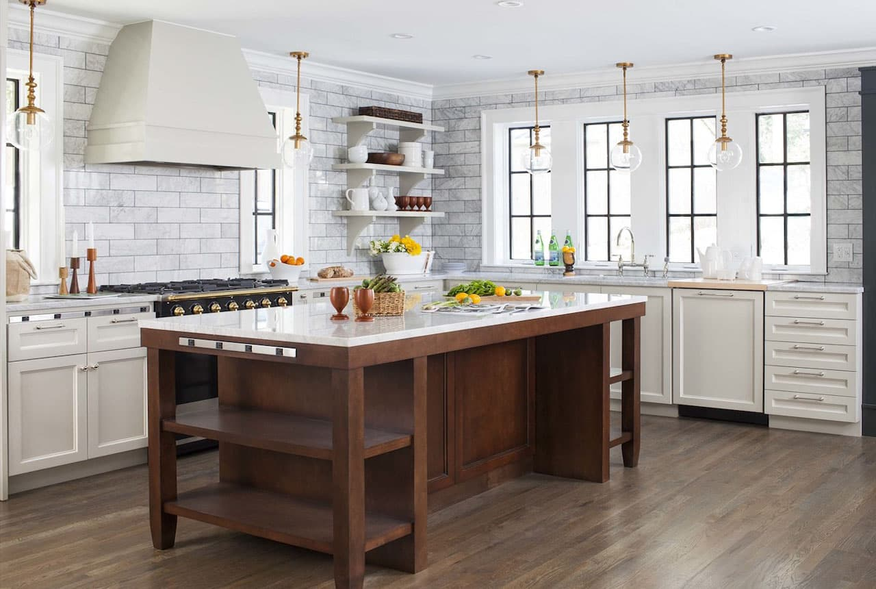 Дизайн кухни — фото новинок идеального оформления