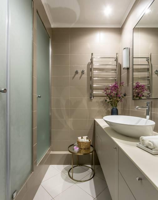 Голубая ванная - особенности интерьера, варианты дизайна и советы по выбору оформления