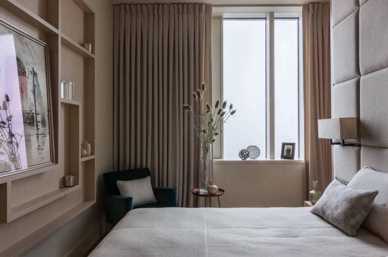 Спальня 6 кв м: дизайн интерьера +50 фото