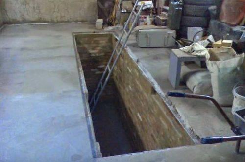 Смотровая яма в гараже - технология строительства и советы по уходу (видео + 75 фото)