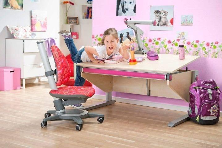 Стол и стул, растущие вместе с ребенком
