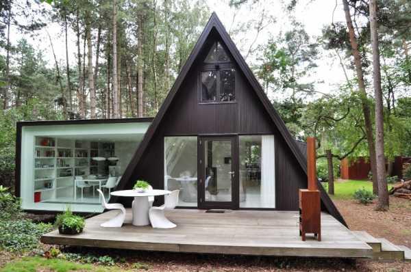 Дом шалаш и фото проекта: строительство дачного дома шалашного типа