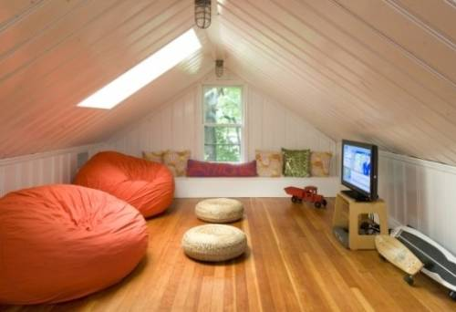 Отделка второго этажа деревянного дома - внутренняя отделка стен и потолка, выбор материала