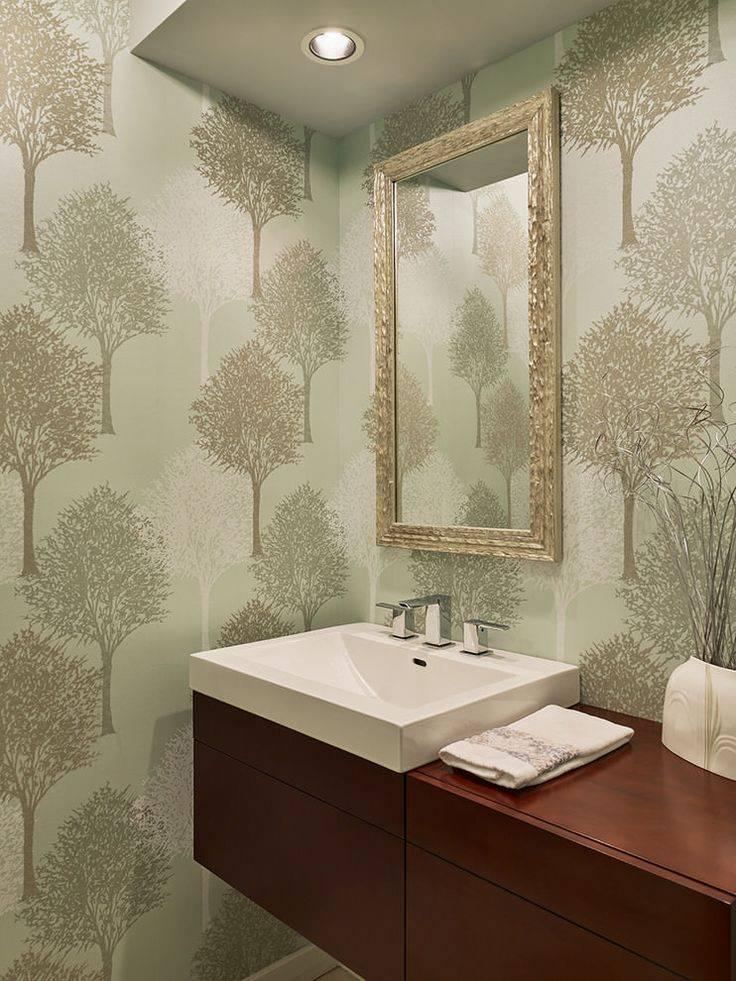 Влагостойкие фотообои для ванной комнаты — виды и как выбрать (видео, фото)