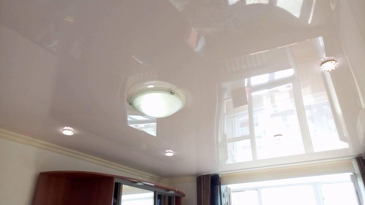 Какой натяжной потолок лучше выбрать: матовый, сатиновый или глянцевый