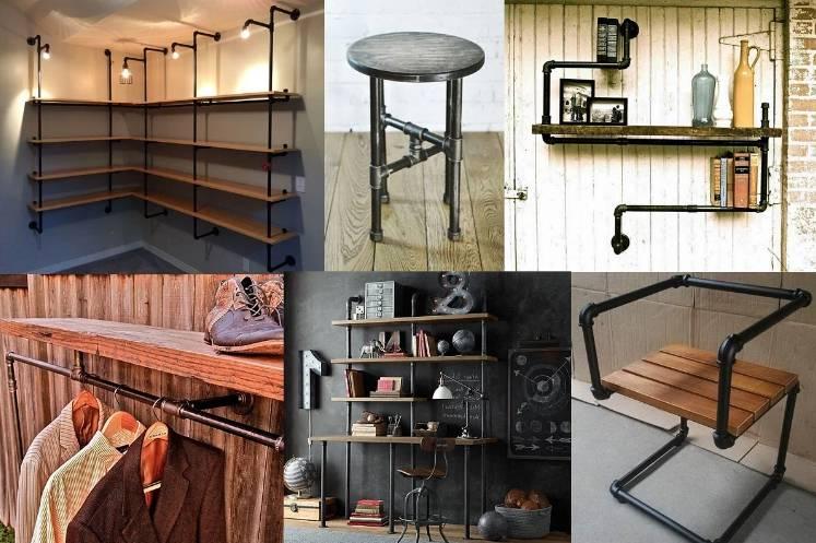 Сделать стол в стиле лофт своими руками: в чем особенности, какие материалы использовать, изготовление составляющих и окончательная сборка