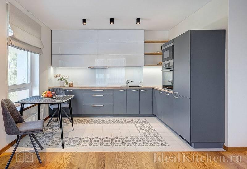 Плитка на кухню на пол — 38 фото с интересным дизайном