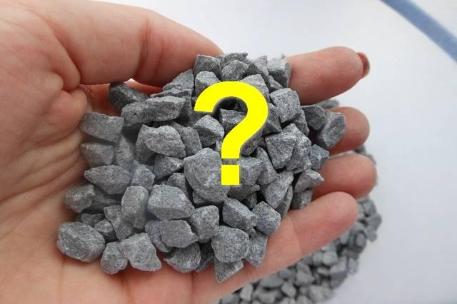 Какой щебень нужен для фундамента дома: выбираем щебень для подушки фундамента, а также рекомендации по использованию щебня