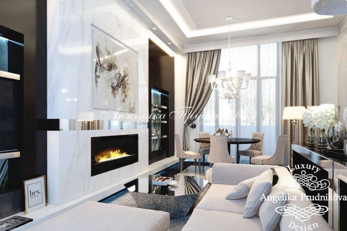 Модный дизайн с камином 2021-2022. фото идеи интерьера с камином в разных стилях, виды каминов