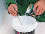 Как развести водоэмульсионную краску