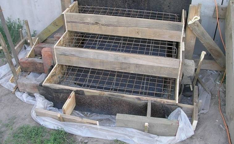 Крыльцо из бетона: подготовка и расчеты, пошаговая технология строительства