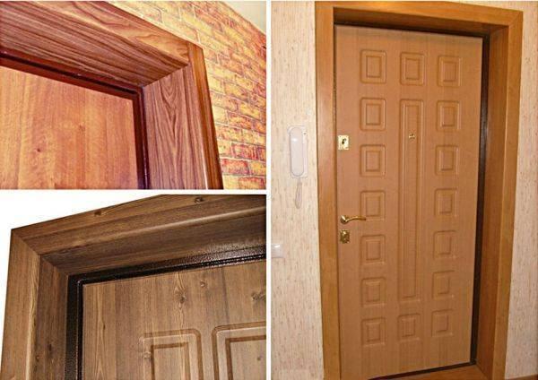 Что нужно для штукатурки входной двери и как ее делать? оформление дверных откосов