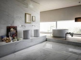 Мраморная плитка для ванной (54 фото): керамическая плитка под мрамор для ванной комнаты, дизайн белой и зеленой мраморной плитки в интерьере, другие варианты