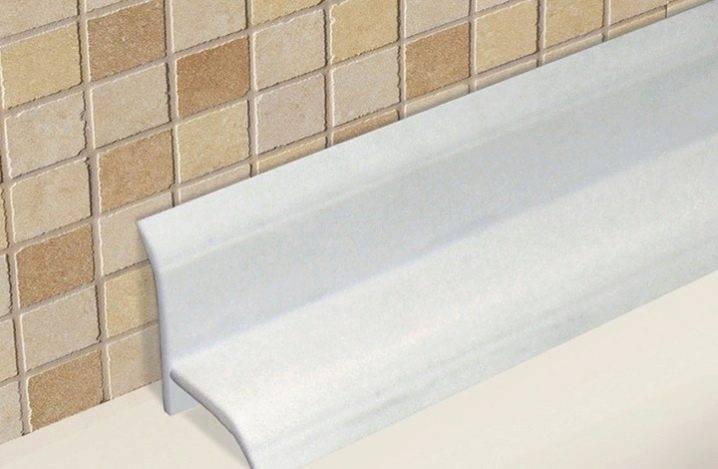 Профиль для плитки: угловой наружный металлический профиль из нержавеющей стали для керамической и кафельной плитки