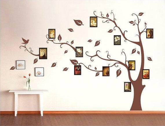Как сделать дерево на стене своими руками - только ремонт своими руками в квартире: фото, видео, инструкции