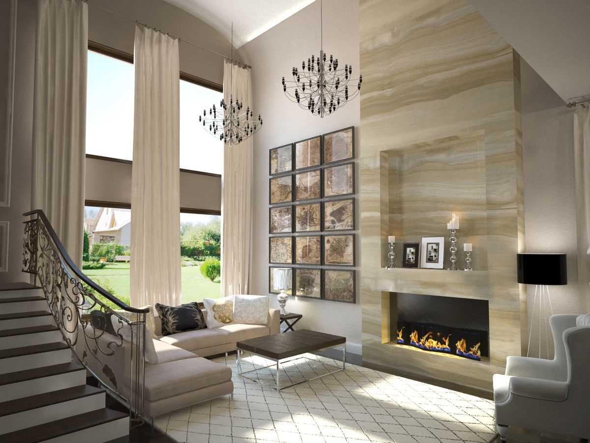 Второй свет в доме — архитектурный приём расширения пространства в интерьере