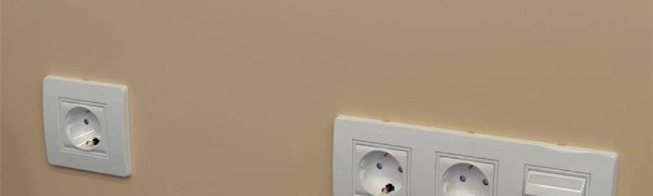 Высота установки выключателей и розеток от пола | правила и стандарты