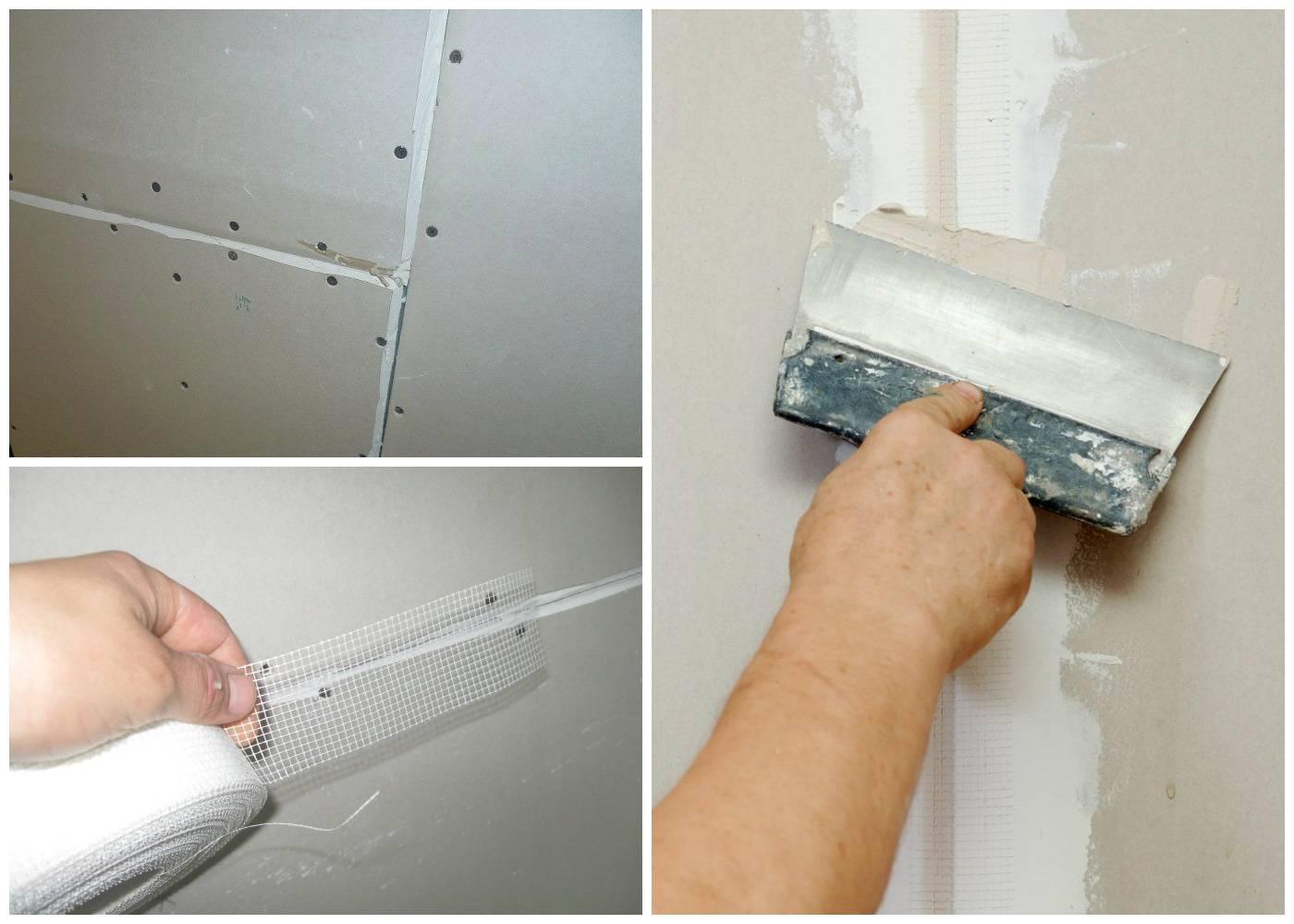 Как шпаклевать потолок из гипсокартона под покраску - все о шпаклевке и отделке на ogipse.ru