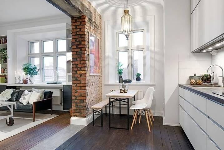 100 лучших идей дизайна: кухня гостиная 20 кв.м на фото