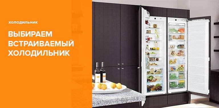 Топ-17 лучших встраиваемых холодильников - рейтинг 2019 года