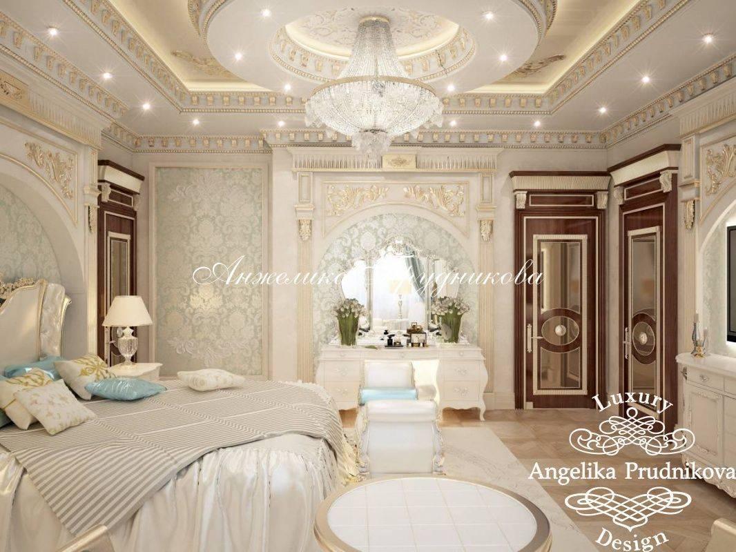 Потолок в спальне: варианты материалов и дизайна на 46 фото
