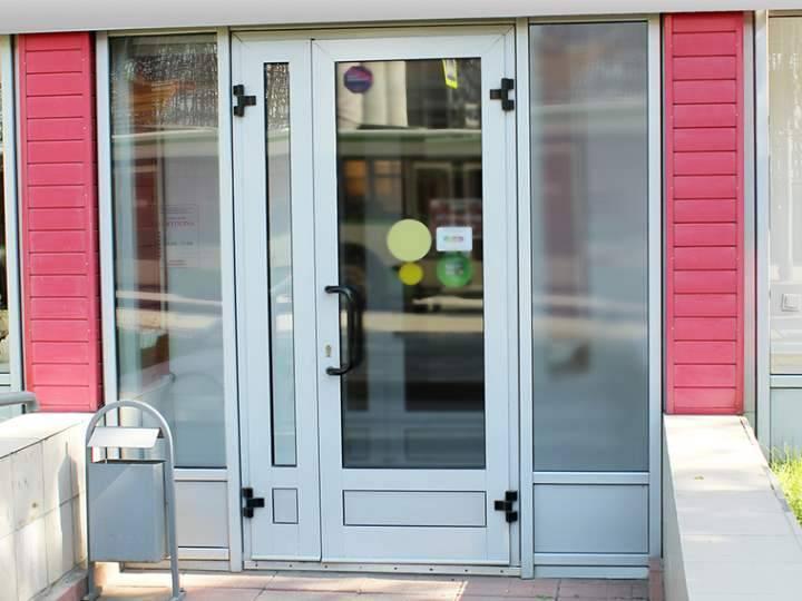Алюминиевые входные двери из алюминиевого профиля - Инструкция