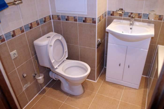 Укладка плитки в ванной и туалете своими руками