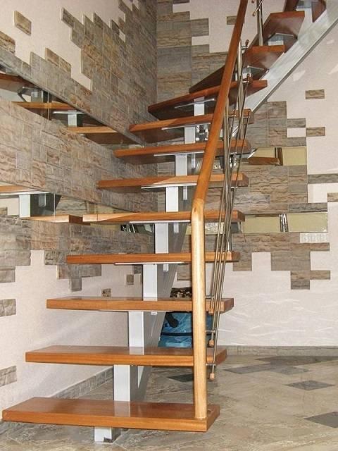 Профильная лестница: инструкция по изготовлению
