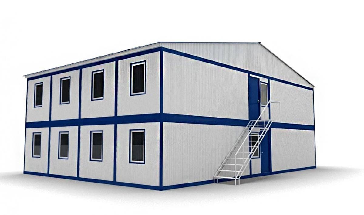 Молодая семья построила дом изморских контейнеров за30 тысяч долларов. вот как онвыглядит