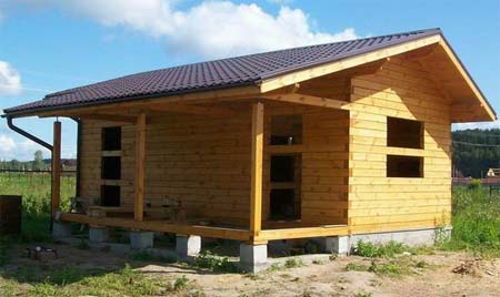 Односкатная крыша своими руками - 6 основных видов стропильных систем: от расчетов до монтажа