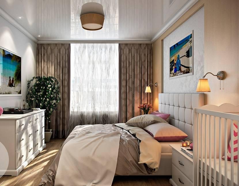 Спальня с детской кроваткой - 70 фото идей правильно оформления