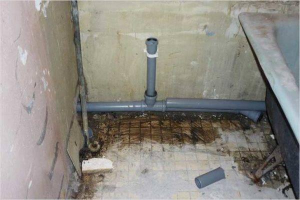 Каким должен быть и почему важен уклон канализационной трубы