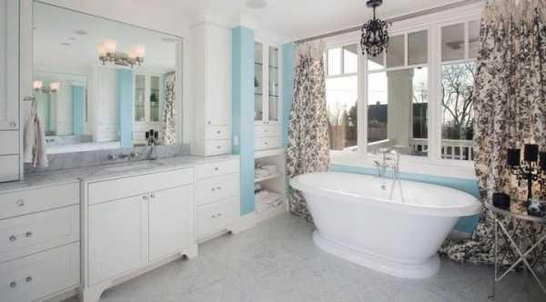 Линолеум в ванную комнату: требования, выбор, укладка