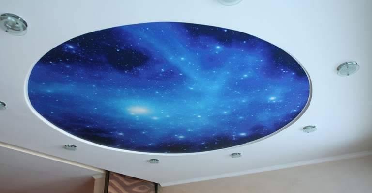 Натяжной потолок с эффектом «зведное небо»: как это смотрится и где их лучше устанавливать?