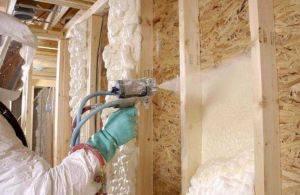 Утепление напыляемым пенополиуретаном своими руками - блог о строительстве