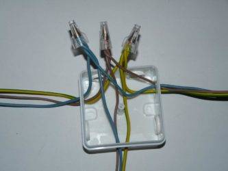 Соединение проводов в распределительной коробке: как правильно, способы и схемы