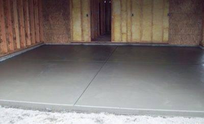 Обеспыливание бетонного пола: варианты, материалы и технологии