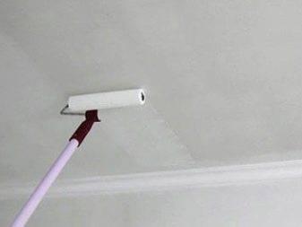 Способы очистки потолка от побелки – проверенные и простые методы