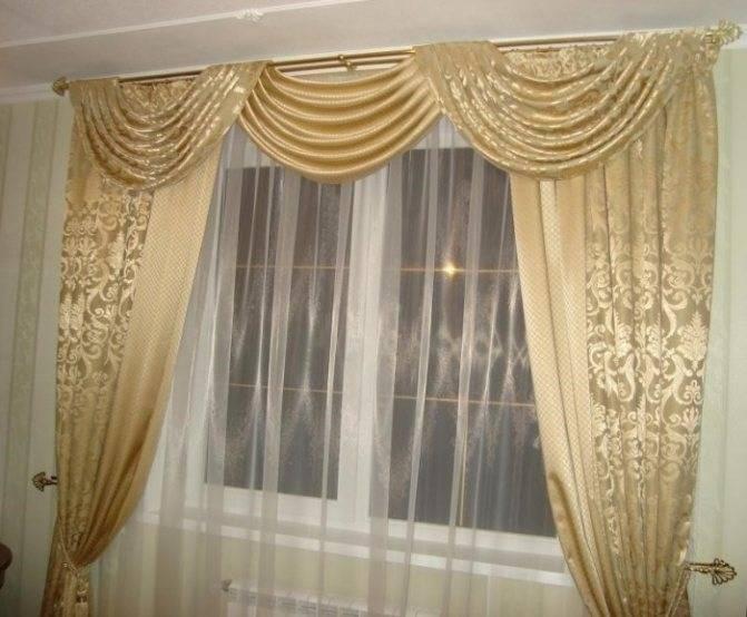 Декор штор: 95 фото вариантов сочетании красивых идей оформления штор и гардин